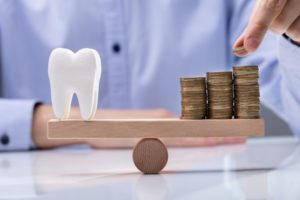 Coins and Healthy Tooth